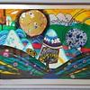 "Silkscreen Print ""Sun and Moon Beauty Contest"" by Helmut Kand"