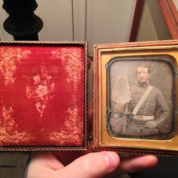 Civil War Tin Type - Photographs