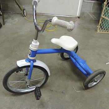 Rainbow Trike blue Edit: Pony tricycle not Rainbow