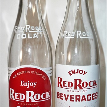 Red Rock and Thrill Beverages - Bottles
