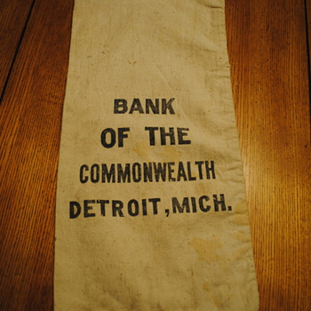 Bank of the Commonwealth Detroit, MI Bag - Bags