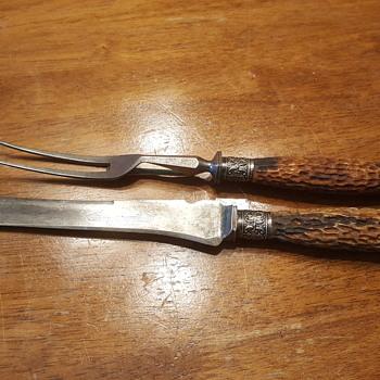 Joseph Fenton & Sons Carving Knife Set - Kitchen