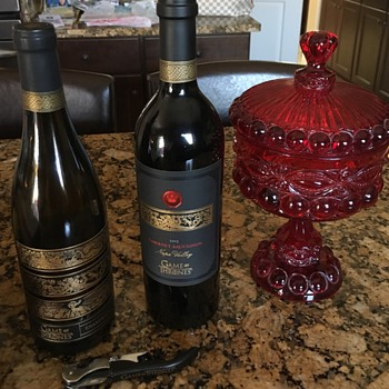 Game of Thrones wine (yes they exist) - Bottles