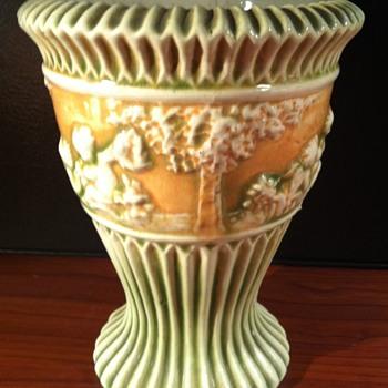 Roseville Donatello Vase - Pottery
