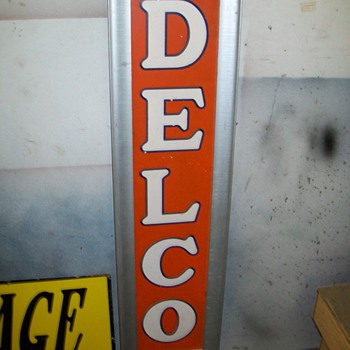 delco sign - Signs