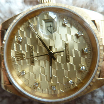 Chevrolet Diamond Jubilee datejust Rolex - Wristwatches