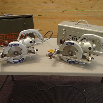 1950  W7 & W8 Stanley Safety saws - Tools and Hardware