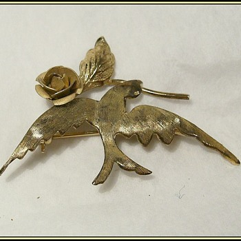 BOYD -- Bird Brooch -- Marked