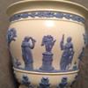 Wedgwood Queensware Embossed Vase