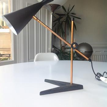 Mid century table lamp - Mid-Century Modern