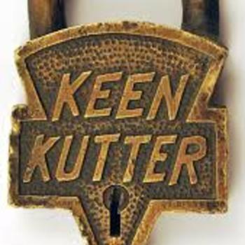 Keen Kutter Santa Fe Railway Lock - Railroadiana