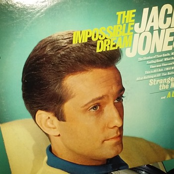 The Gents...#4...Jack Jones...On 33 1/3 RPM Vinyl - Records