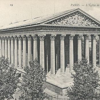 PARIS. - L'ÉGLISE DE LA MADELEINE - Postcards