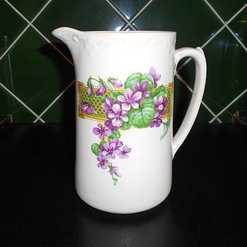 English Tableware. Jug - China and Dinnerware