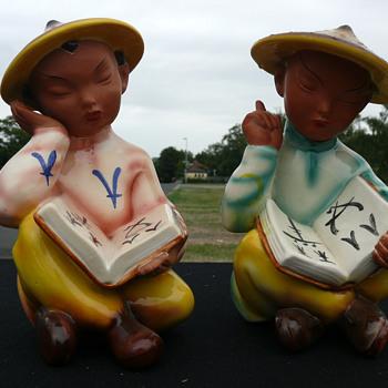 gmundner chinese figurines - Figurines