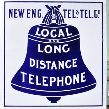 Early New England Tel & Tel single sided