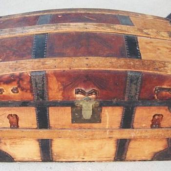 1870's Trunk from Columbus, Ohio