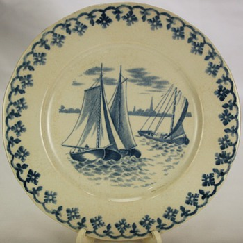 Old Delft Plate  - China and Dinnerware