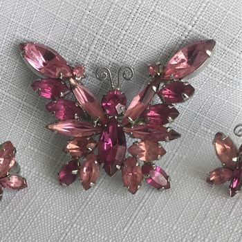 Suddenly Spring-Into-Summer (4) — Some Butterflies  - Costume Jewelry