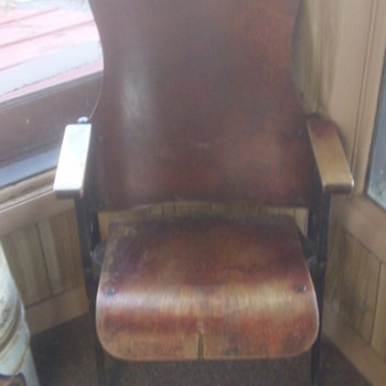 Old Movie Theater Seat