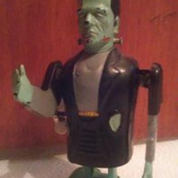 1960's Marx Frankenstein Windup Toy !