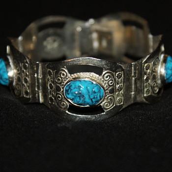 Vintage Mexican Bracelet - Fine Jewelry