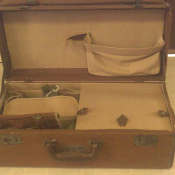 Celestial Navigation Case, (WWII vintage) - Military and Wartime