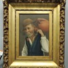 Portrait of Old Man Carrying a Jug - Oil on Canvas Board - PAPINI MUSITANO?