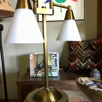 Recently purchased lamp. Trying to find designer/manufacturer - Lamps