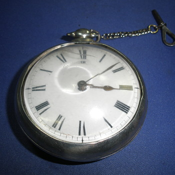 Early 1800's  Fusee Pocket watch with a Verge escapement  - Pocket Watches