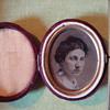 This is Post Civil War tintype of Civil War veteran Val La Point's Wife.