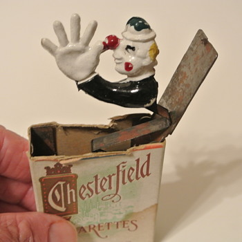 1940s Chesterfield Gag Clown for Vynil33rpm - Advertising