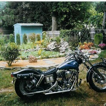 Home built Harley - Motorcycles
