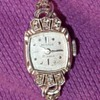Benrus 14k 21 jewel wrist watch with diamonds - was my grandmother's