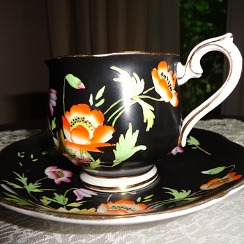 Gloria Royal Albert Crown China Made in Engl Cup and Saucer - China and Dinnerware