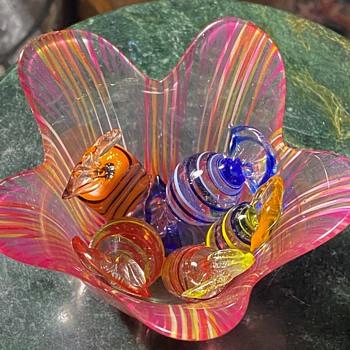 Flower Vase - Art Glass