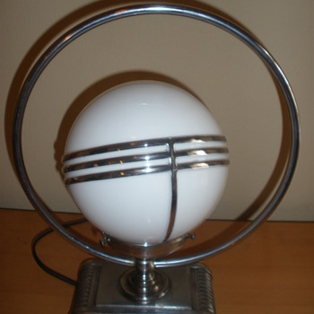 Art Deco Saturn Lamp - Art Deco