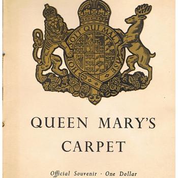 Queen Mary Carpet Invitation