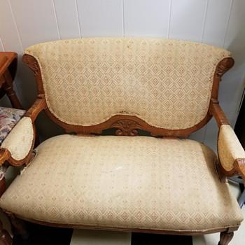 Pair Eastlake Settee's - Furniture