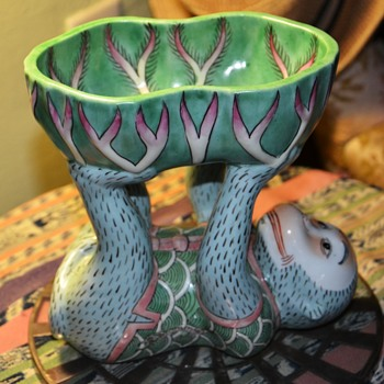 Monkey Bowl - Andrea by Sadek - Made in China - Figurines