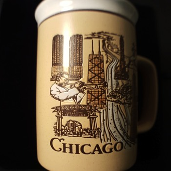Gorgeous Vintage Chicago Coffee Mug  - Kitchen