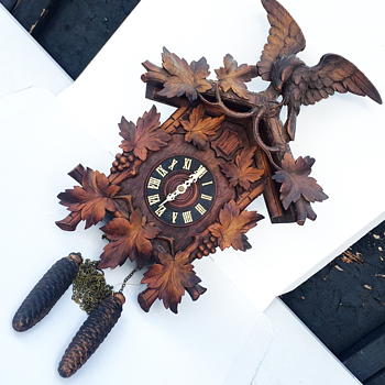 Vintage German Cuckoo Clock - Clocks