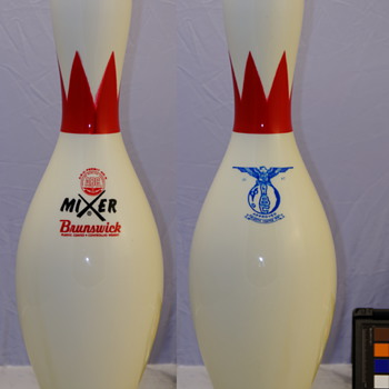 Brunswick Mixer Blue Eagle ABC Bowling Pin - Sporting Goods