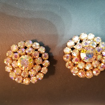 Recent clip on earrings finds!