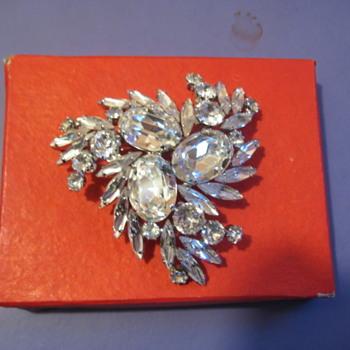 G. Sherman Swirl Brooch - Costume Jewelry
