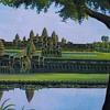 Enormous Painting of Angkor Wat