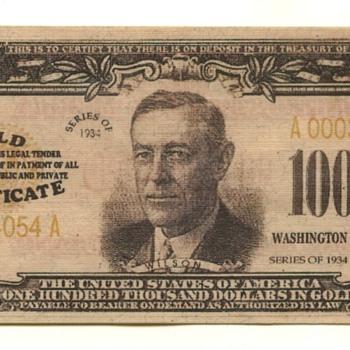100 thousand bill