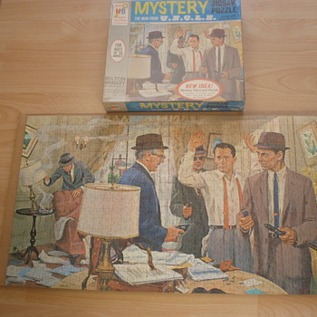 Man From U.N.C.L.E. 1960's Puzzles - Games