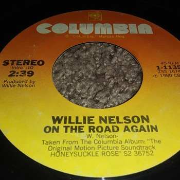 Willie Nelson...On 45 RPM Vinyl - Records