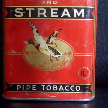 Forest And Stream Tin - Tobacciana